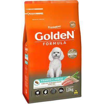 Ração Premier Golden Formula Cães Adultos Frango e Arroz Mini Bits 1k