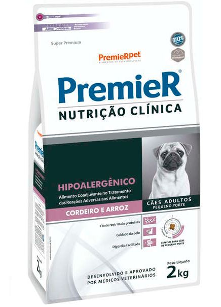 Ração Premier Nutrição Clínica para Cães Hipoalergênico 2K