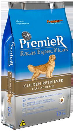 Ração Premier para cães adultos Golden Retriever 12 k