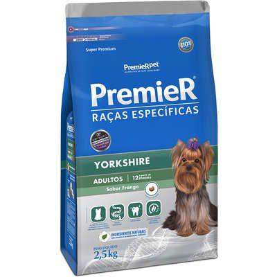 Ração Premier Raças Específicas Yorkshire Adulto 2,5 kg