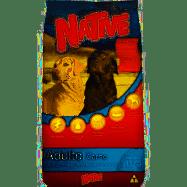 Ração Premium Native Adulto Carne 15 Kg com 23% Proteína