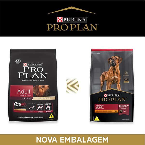 Ração Pro Plan Adult Large Breed 15 kilos