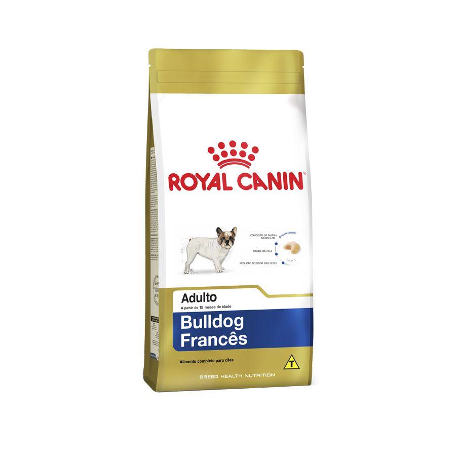 Ração Royal Canin Bulldog Francês - Cães Adultos 2.5K