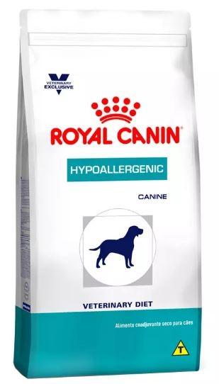 Ração Royal Canin Canine Veterinary Diet Hypoallergenic para Cães Adultos com Alergias 10K