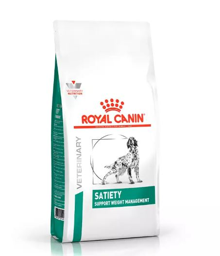 Ração Royal Canin Canine Veterinary Diet Satiety Support para Cães Adultos 10k