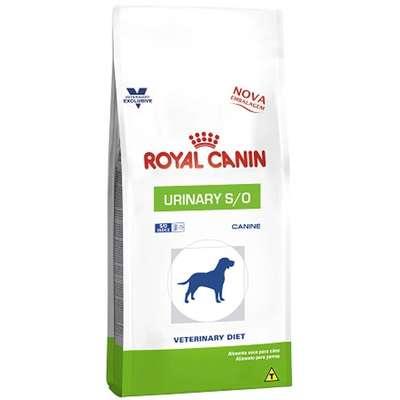 Ração Royal Canin Canine Veterinary Diet Urinary S/O para Cães com Doenças Urinárias 10.1ki
