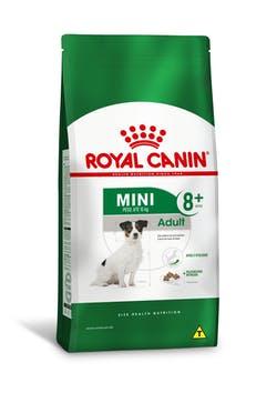 Ração Royal Canin Mini Adult 8+ para Cães Adultos de Raças Pequenas com 8 Anos ou mais 2.5k