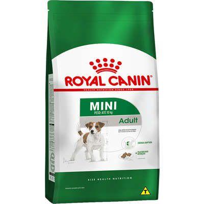 Ração Royal Canin Mini Adult para Cães Adultos de Raças Pequenas com 10 Meses ou mais de Idade 7,5k