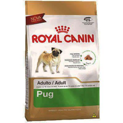 Ração Royal Canin para Cães Adultos da Raça Pug 2.5K