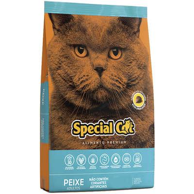Ração Special Cat Premium Peixe para Gatos Adultos 10,1k