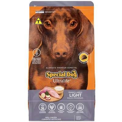 Ração Special Dog Ultralife Light para Cães de Raças Pequenas 15k