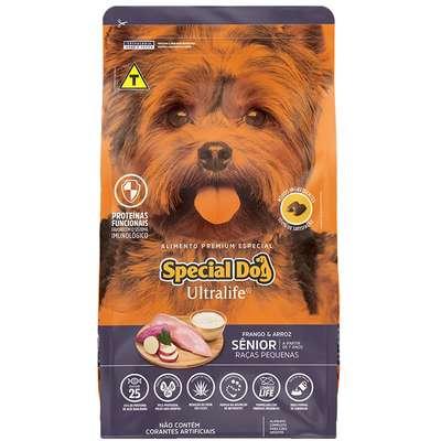 Ração Special Dog Ultralife Sênior para Cães de Raças Pequenas 15K