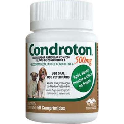 Regenerador Articular Vetnil Condroton 60 Comprimidos 500ml