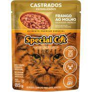 Sachê Special Cat Frango para Gatos Castrados 85g