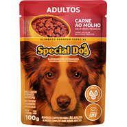 Sachê Special Dog Carne para Cães Adultos 100g