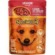 Sachê Special Dog Carne para Cães Idosos 100g