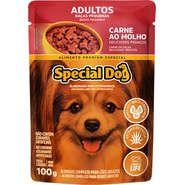 Sachê Special Dog Carne para Cães Raças Pequenas 100g