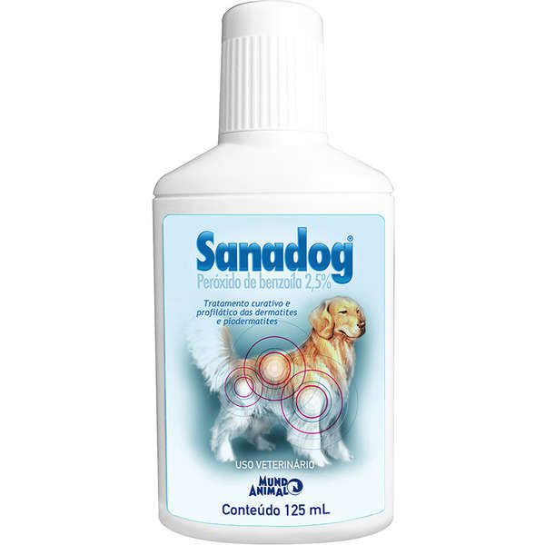 Shampoo Mundo Animal Sanadog 125 ml