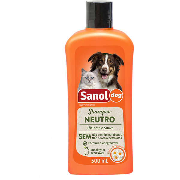 Shampoo Sanol Dog Neutro - 500 mL