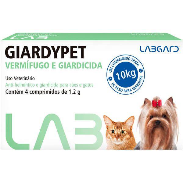 Vermífugo Labgard Giardypet para Cães e Gatos 1,2m