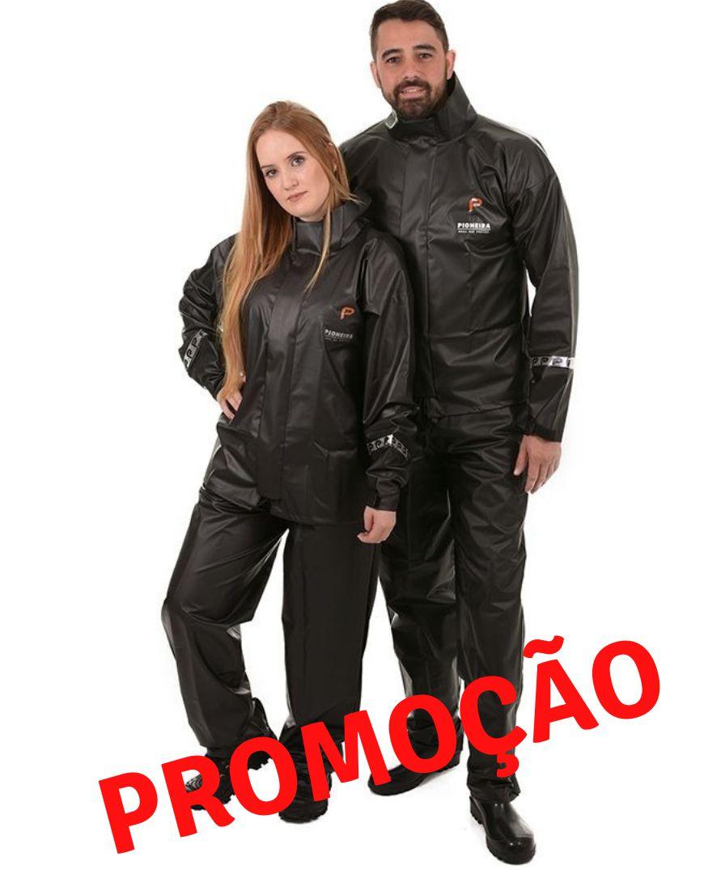 Capa De Chuva PVC  para Motociclista / Motoqueiro Promoção