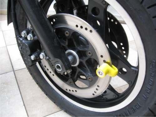 Trava de Disco Antifurto p/ Moto até 200cc