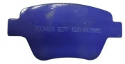 Pastilha de Freio Traseira Tecpads Racing Jetta Fusca  sistema bosch ( discos 272mm)