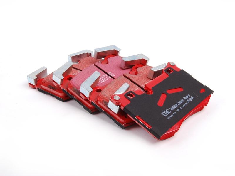 Pastilha de Freio Dianteira EBC RED Mini Cooper Jonh Works