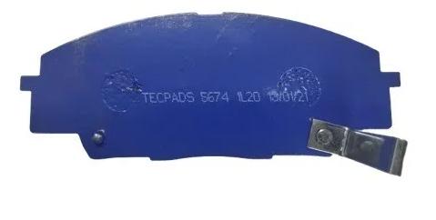 Pastilha de Freio Dianteira Tecpads Racing Civic Si