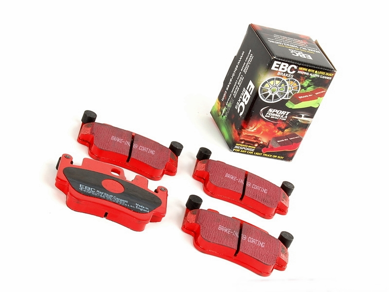 Pastilha de Freio Dianteira Ebc Redstuff Porsche Boxter S