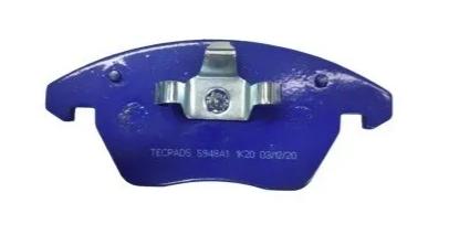 Pastilhas de freio dianteira Tecpads Racing  Jetta TSI Fusca Tsi Tiguan Passat
