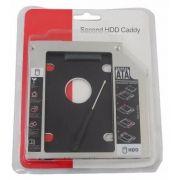 Adaptador Dvd para Hd Ou Ssd Notebook Drive Caddy Sata 12.7MM