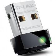 Adaptador Wireless - USB 2.0 - TP-Link Nano N150 - Preto - TL-WN725N