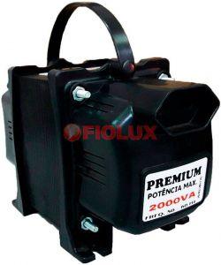 Auto Transformador Fiolux 2000VA 110V/220V e 220V/110V