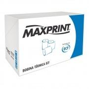 Bobina Térmica ECF 80x40 Palha 48g Caixa com 30 Bobinas Maxprint