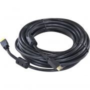 Cabo Hdmi Com Ethernet 1.4v 10 Metros 19 Pinos Com Filtro Hc-1410