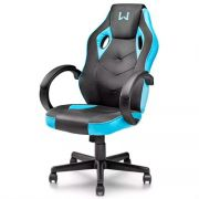 Cadeira Gamer Multilaser Warrior Azul GA161