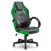Cadeira Gamer Multilaser Warrior Verde GA160