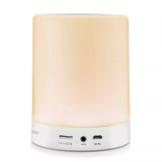 Caixa De Som Led Light 10W Rms Touch Bluetooth Multilaser - SP287