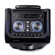 Caixa De Som Torre Double 8 Bt Fm Usb Sd Aux Microfone 300w Multilaser Sp282