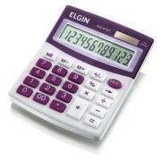 Calculadora de Mesa Visor Blister MV4127 Roxa