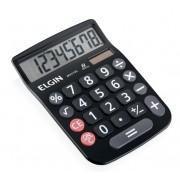 Calculadora Mesa Preta Mv 4133 Elgin