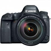 Câmera Canon Eos 6d Mark Ii Ef 24-105mm F/4, 26mp, Full Hd, Wi-Fi