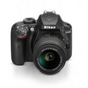Câmera Digital SLR Nikon D3400 - 24.2MP / 18-55mm / Full HD - Preta