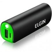 Carregador De Bateria Portátil Usb Cp2600 2600mah Preto - Elgin