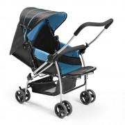 Carrinho De Bebe Berco Flip Azul Multikids Baby Bb503