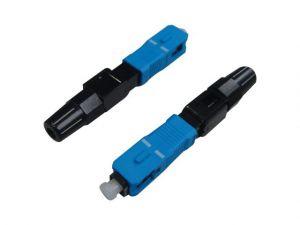Conector De Fibra Fast Seccon SC-UPC Azul