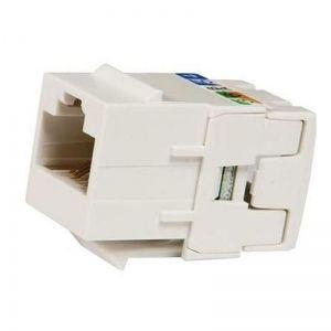 Conector RJ45 Femea Legrand Cat6e UTP Keystone 110 Modelo 632705 Linkeo