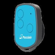 Controle Digital RF Peccinin New Evo Azul