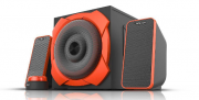 Caixa De Som Gamer 50w Rms Warrior Multilaser Sp266